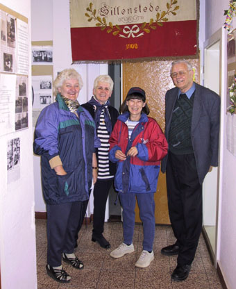 Die Organisatoren: D. Wolken, H. Keunecke, M. Ramstein, W. Hoppe, Foto: Bürgerverein