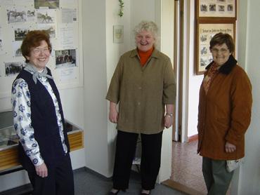 Herma Hoppe, Doris Wolken und Christa Habben